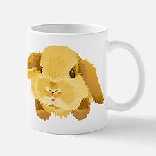 Fuzzy Lop Eared Bunny Mugs