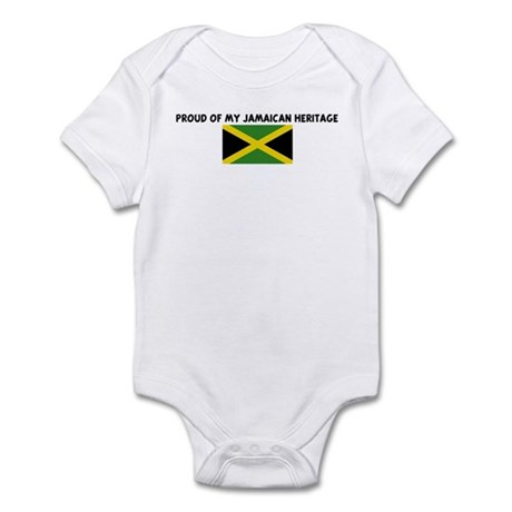 PROUD OF MY JAMAICAN HERITAGE Infant Bodysuit