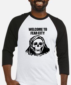 Welcome to Fear City Baseball Jersey
