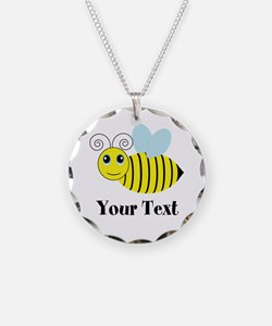 Personalizable Honey Bee Necklace