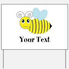 Personalizable Honey Bee Yard Sign