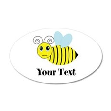 Personalizable Honey Bee Wall Decal