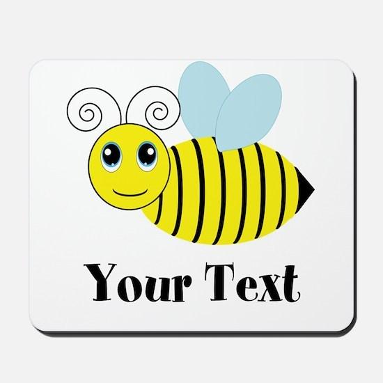 Personalizable Honey Bee Mousepad