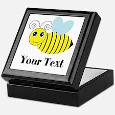 Personalizable Honey Bee Keepsake Box