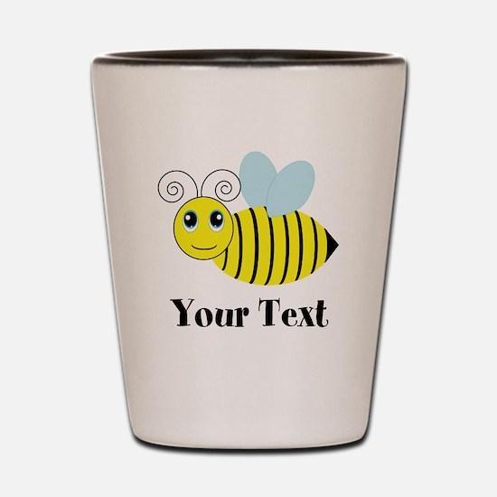 Personalizable Honey Bee Shot Glass