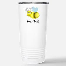 Personalizable Honey Bee Travel Mug