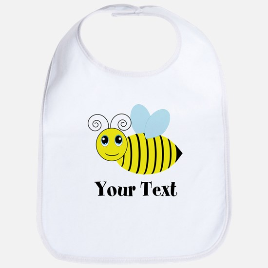 Personalizable Honey Bee Baby Bib