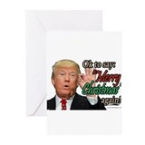 Political christmas Greeting Cards (10 Pack)