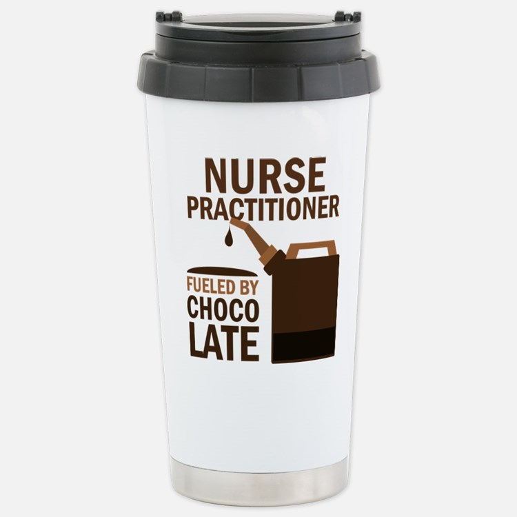 Cute Nurse funny chocolate Travel Mug
