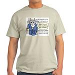 Mr. Gruff Coffee Ash Grey T-Shirt