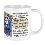 Mr. Gruff Coffee Mug