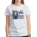 Mr. Gruff Atheist Witnessing Women's T-Shirt