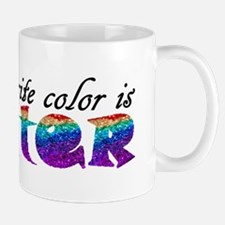 My favorite color is Glitter Mugs