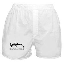 Vintage Hammerhead Shark Boxer Shorts