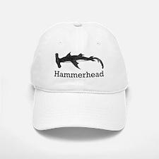 Vintage Hammerhead Shark Baseball Baseball Cap