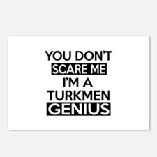 You Do Not Scare Me I Am Postcards (Package of 8)