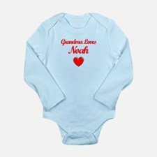 Grandma Loves Noah Body Suit