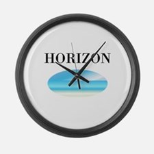 HORIZON Large Wall Clock