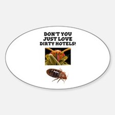 BED BUGS - DIRTY HOTELS - CHECK THE ROOMS! Decal