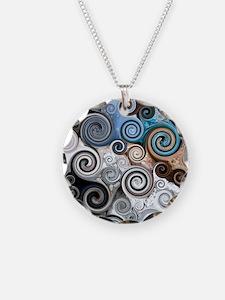 Rock Swirls Necklace
