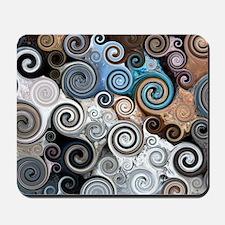 Rock Swirls Mousepad