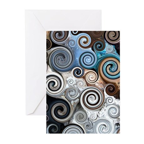 Rock Swirls Greeting Cards (Pk of 10)