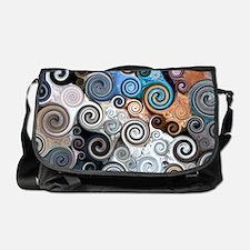 Abstract Rock Swirls Messenger Bag