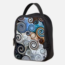 Abstract Rock Swirls Neoprene Lunch Bag
