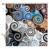 Swirl Shower Curtains