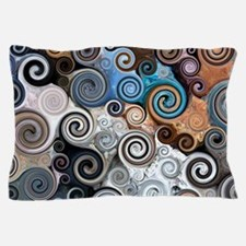 Abstract Rock Swirls Pillow Case