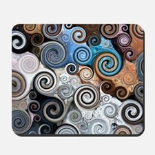 Abstract Rock Swirls Mousepad
