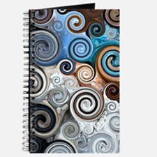 Abstract Rock Swirls Journal