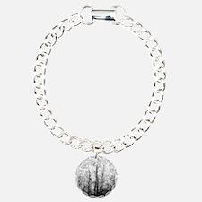 Black and White Aspens Bracelet