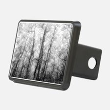 Black and White Aspens Hitch Cover