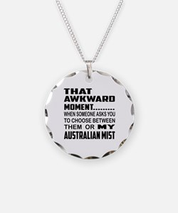 That awkward moment.... Aust Necklace