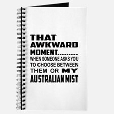 That awkward moment.... Australian Mist ca Journal