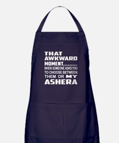 That awkward moment.... Ashera cat Apron (dark)