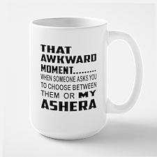 That awkward moment.... Ashera cat Large Mug