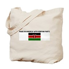 MADE IN AMERICA WITH KENYAN P Tote Bag