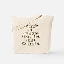 Last Minute Shopping Joke Tote Bag