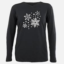Skull Snowflakes T-Shirt