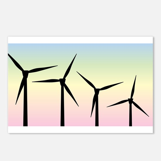 Wind Farm Morning Postcards (Package of 8)
