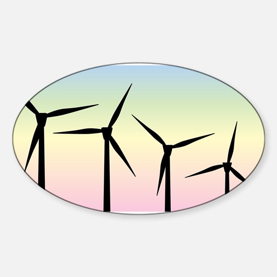 Wind Farm Morning Decal