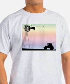 Farm Morning Sky T-Shirt
