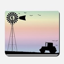 Farm Morning Sky Mousepad