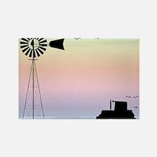 Farm Morning Sky Magnets