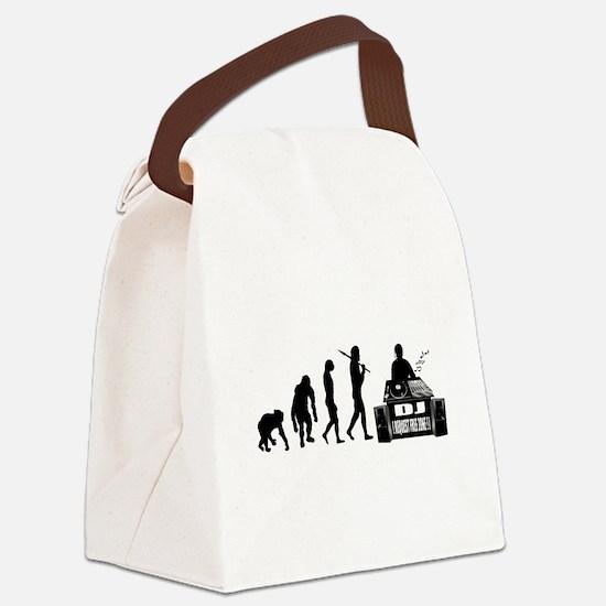 DJ Evolution Canvas Lunch Bag