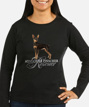 2-Minpin rescueT Long Sleeve T-Shirt