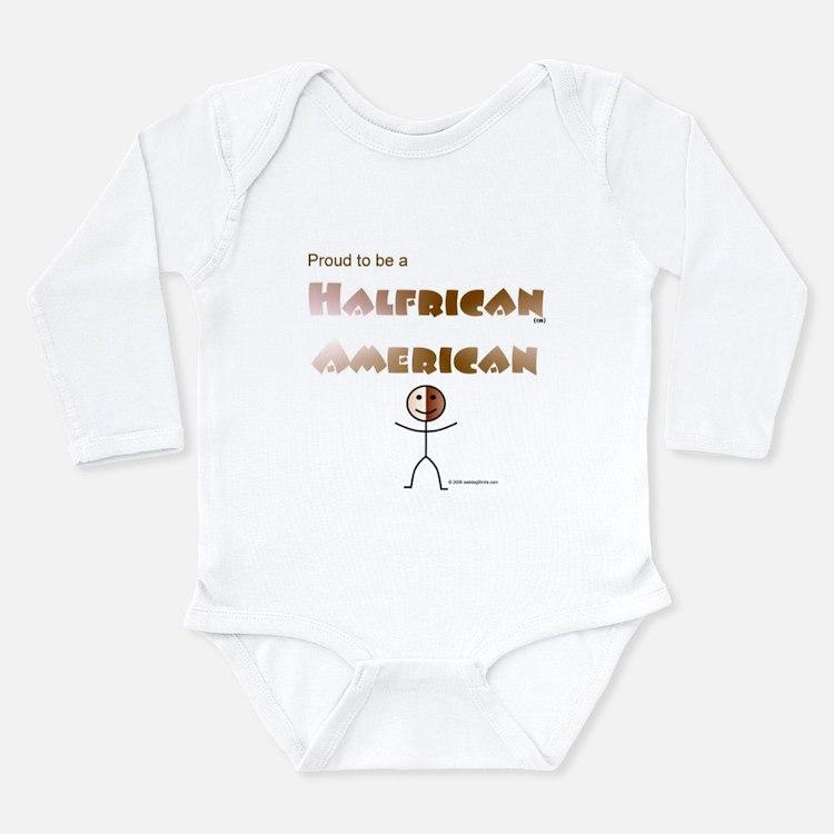 Halfrican American 1 Infant Creeper Body Suit