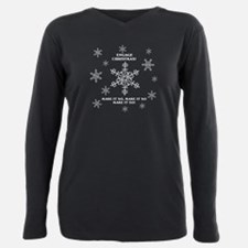 Trek Enterprise Art Snowflake T-Shirt